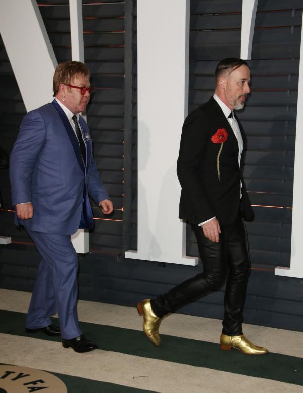 Elton John si David Furnish