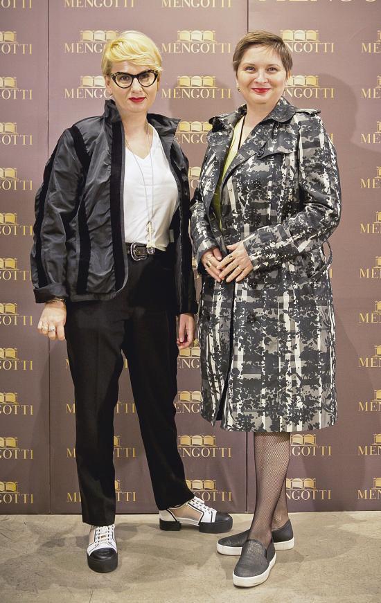Cristina Zegheru si Cristina Stanciulescu (Ringier)