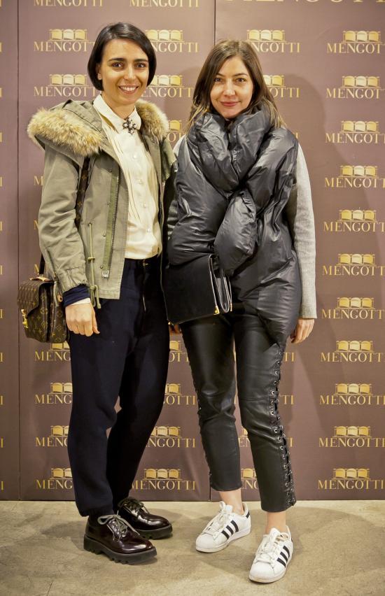 Domnica Margescu si Cristina Craciun (Elle)
