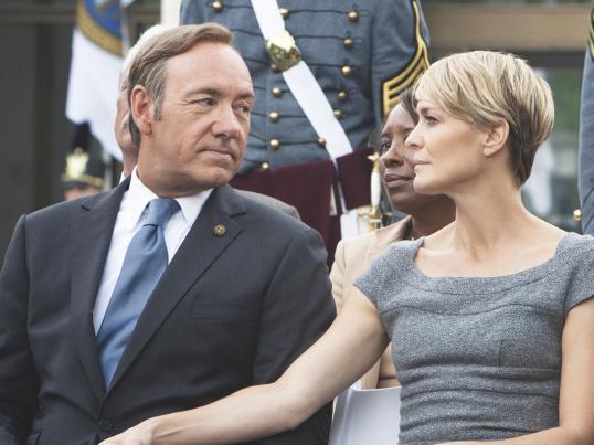 """Robin Wright lături de Kevin Spacey în """"House of Cards"""