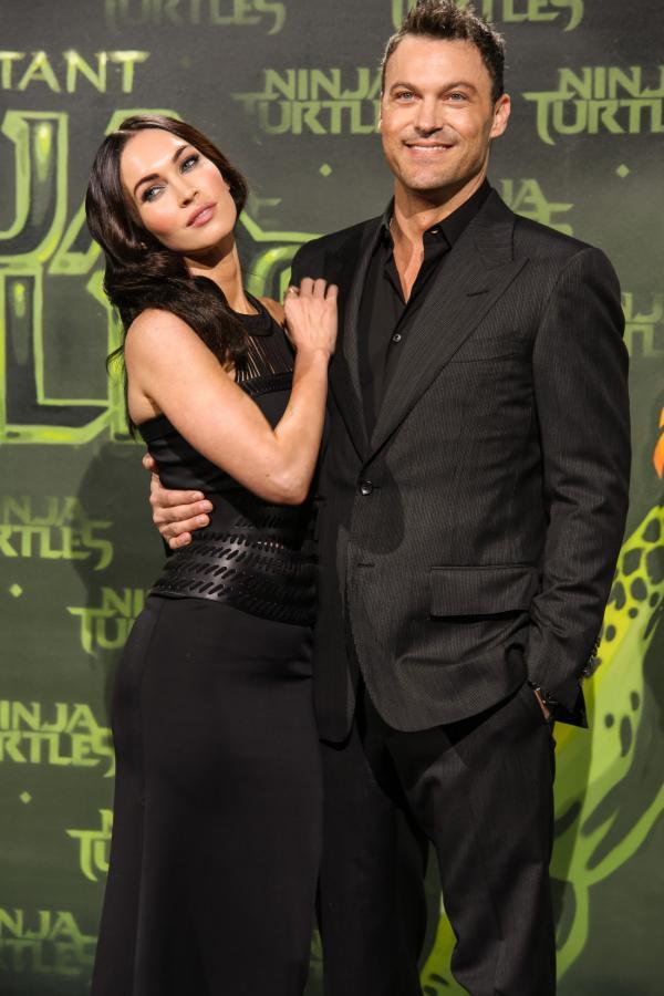 Megan Fox si Brian Austin Green - Viva! Charlize Theron Sean Penn