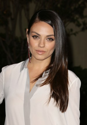 Mandatory Credit: Photo by Matt Baron/BEImages (2694153gp) Mila Kunis Burberry 'London in Los Angeles' at the Griffith Observatory, Los Angeles, America - 16 Apr 2015