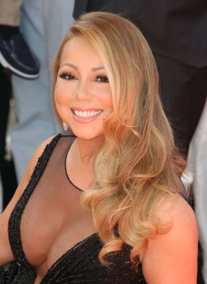 Mandatory Credit: Photo by Matt Baron/BEImages (2786650e) Mariah Carey Mariah Carey honoured with star on Hollywood Walk of Fame, Los Angeles, America - 05 Aug 2015