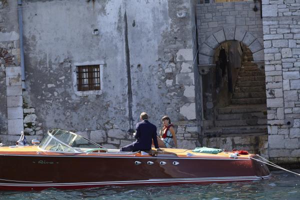 Bond & Zara on boat1