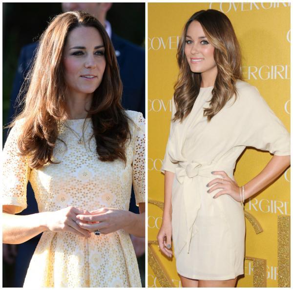 Ducesa Kate Middleton vs. Lauren Conrad