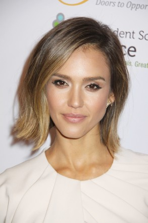 Jessica Alba  03/17/2015 The 30th Anniversary Impact Awards Dinner held at the Four Seasons Beverly Wilshire Hotel in Beverly Hills, CA Photo by Kazuki Hirata / HollywoodNewsWire.net /iPhoto