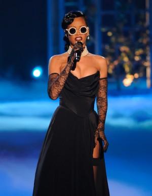 7 November 2012 - New York, New York - Rihanna. 2012 Victoria's Secret Fashion Show at The Lexington Armory. Photo Credit: Mario Santoro/AdMedia