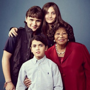 Paris Jackson posts a picture of her family. Supplied by Instagram.com/face to face