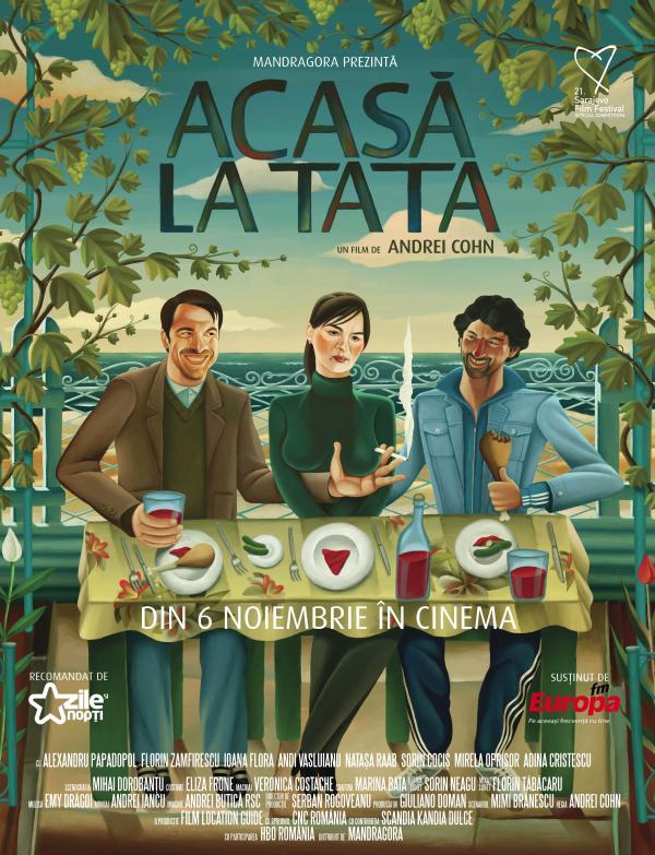 Poster Acasa la Tata2