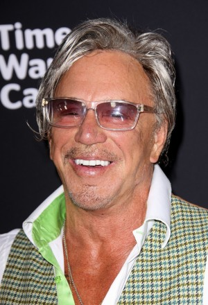 Mandatory Credit: Photo by Jim Smeal/BEImages (2343901bd) Mickey Rourke 'Sin City: A Dame to Kill For' film premiere, Los Angeles, America - 19 Aug 2014