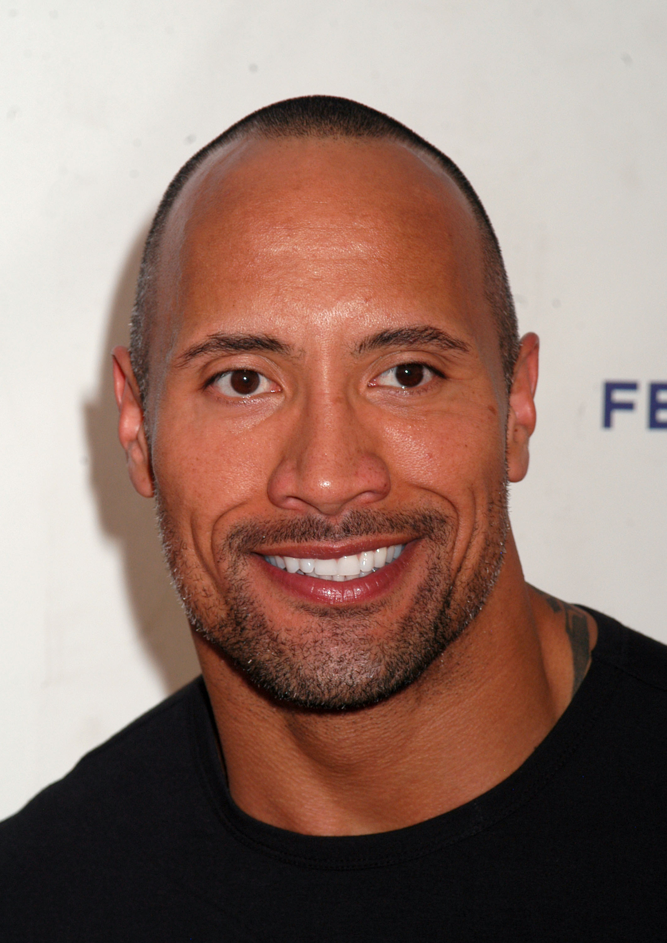 """Dwayne """"The Rock"""" Johnson attends premiere of """"Racing Dreams""""  at SVA Theatre during Tribeca FIlm Festival at Ziegfeld Theatre  in New York, NY on April 25, 2009 by Joy Scheller/iPhoto"""