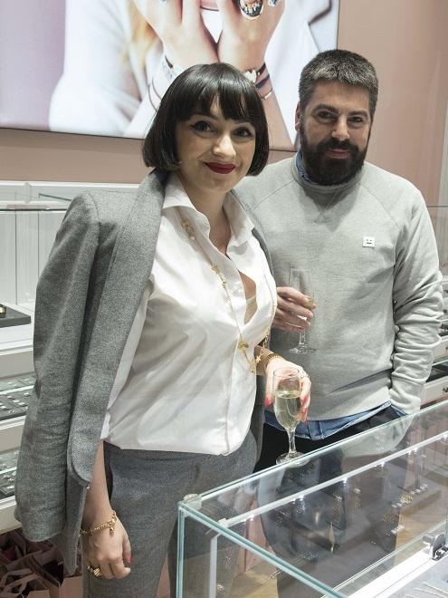 Ana Morodan și Maurice Munteanu (ELLE)
