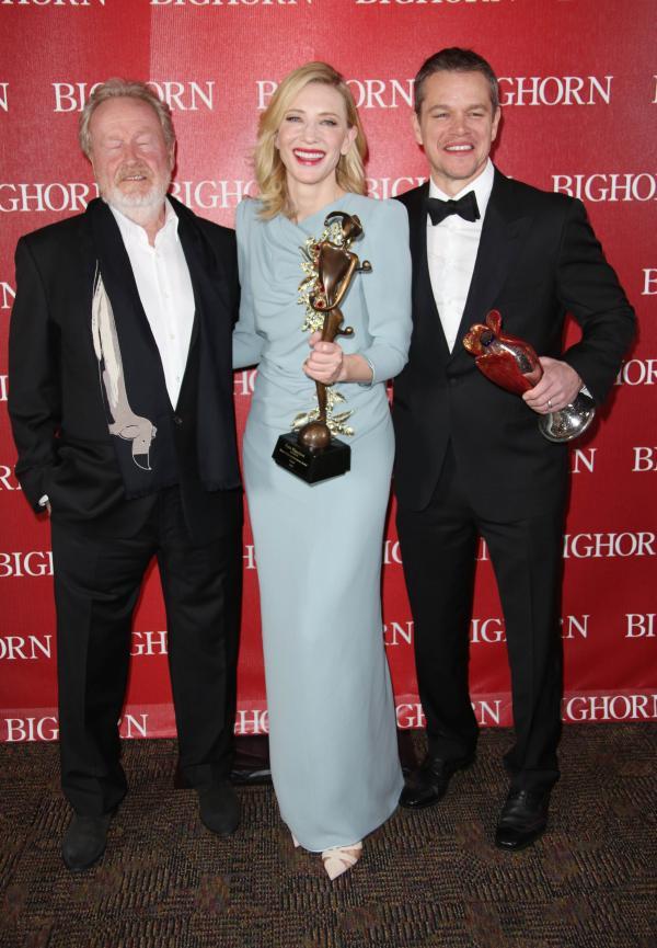 Ridley Scott, Cate Blanchett si Matt Damon