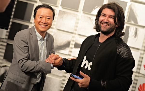 Smiley, ambasador Huawei