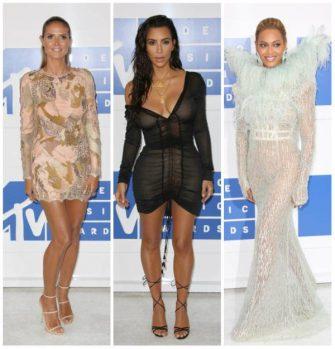 Heidi Klum, Kim Kardashian si Beyonce