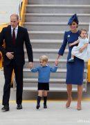 Printul William, Kate Middleton, Printul George si Printesa Charlotte