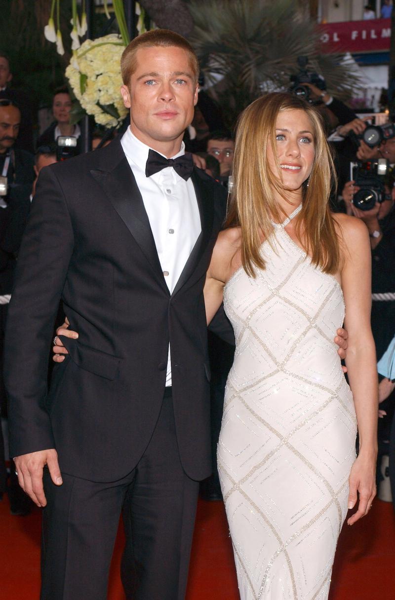 Jennifer Aniston și Brad Pitt