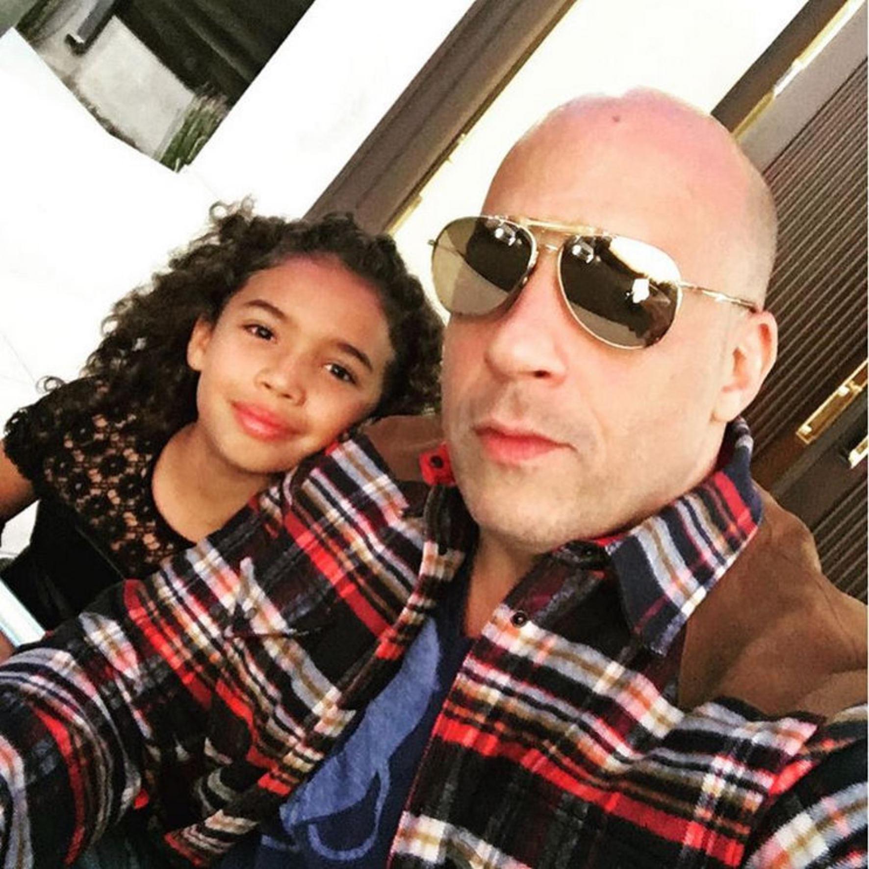 Vin Diesel - Viva! Mariah Carey Instagram