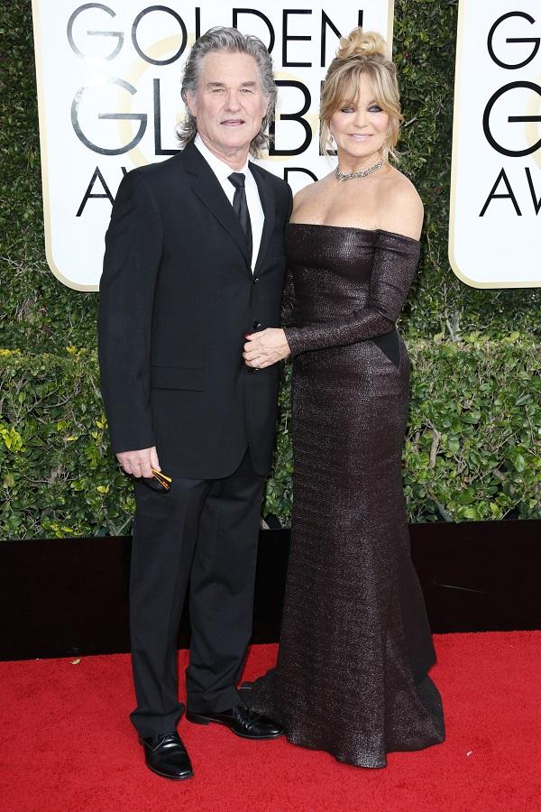 Goldie Hawn si Kurt Russel