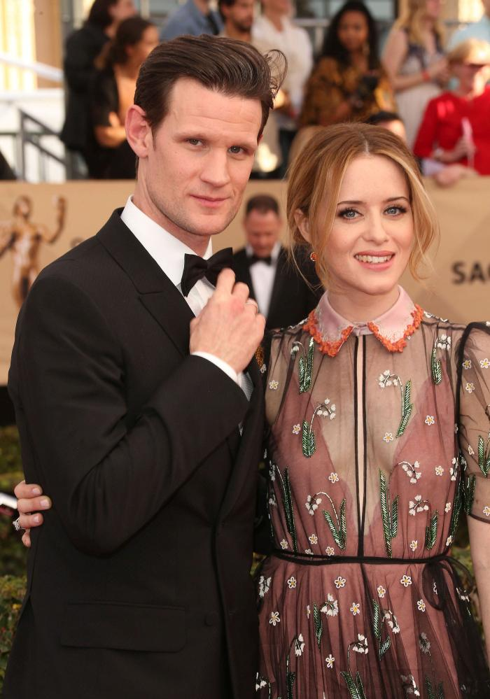 - Matt Smith si Claire Foy