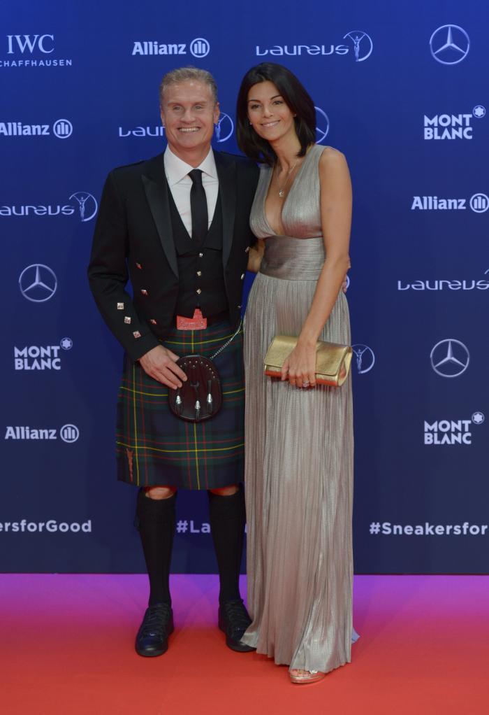 David Coulthardsi sotia lui, Karen Minier