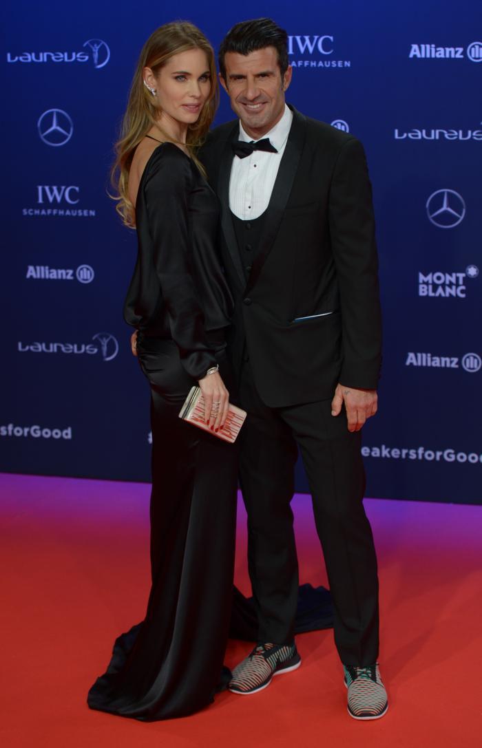 Luís Figo si sotia lui, Helen Svedin