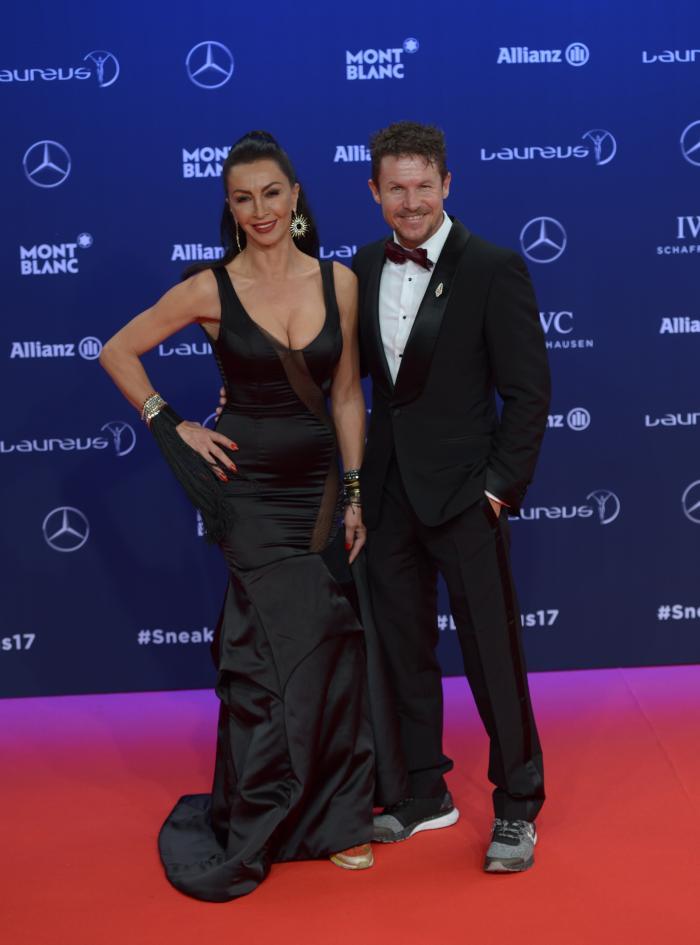 Mihaela Radulescu si Felix Baugmartner