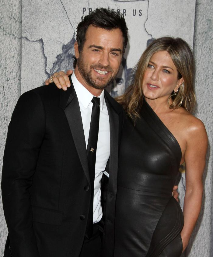 Justin Theroux și Jennifer Aniston