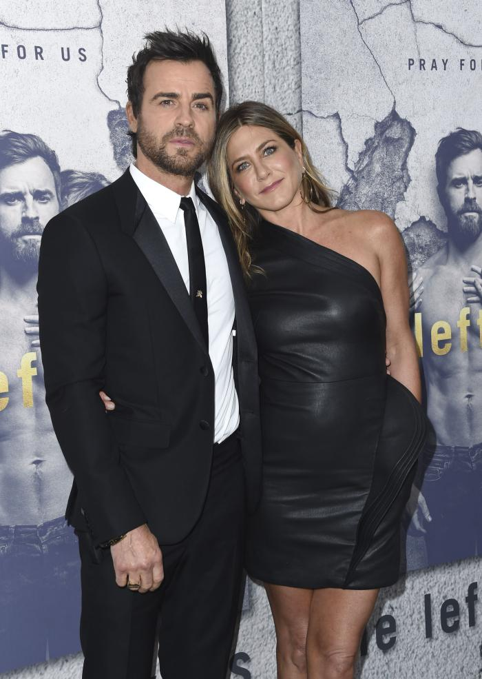 Jennifer Aniston și Justin Theroux