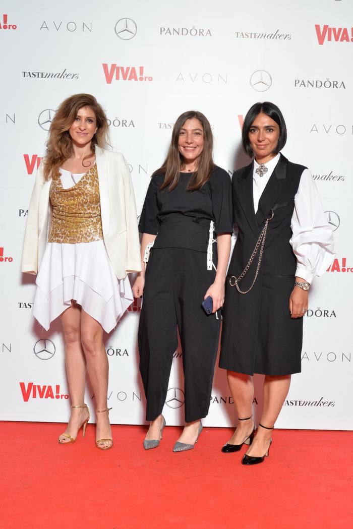 Camelia Lazurean, Cristina Craciun si Domnica Margescu (Elle)