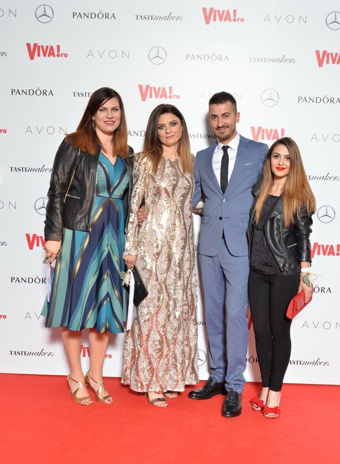 Cristina Vasilescu, Elisabeta Istrate, Marko Stankovic, Diana Mandache (Sephora)