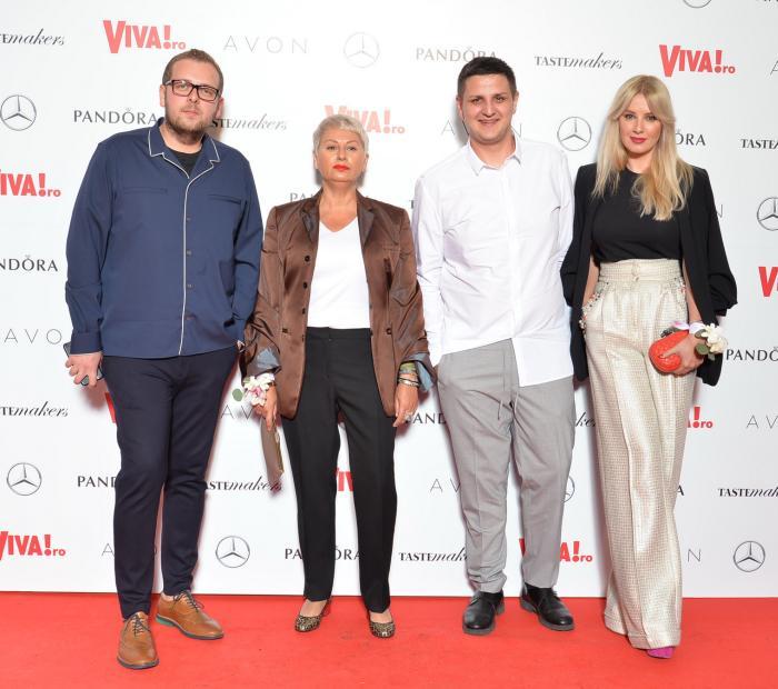 George Man, Cristina Zegheru, Iulian Iovanescu si Daiana Anghel