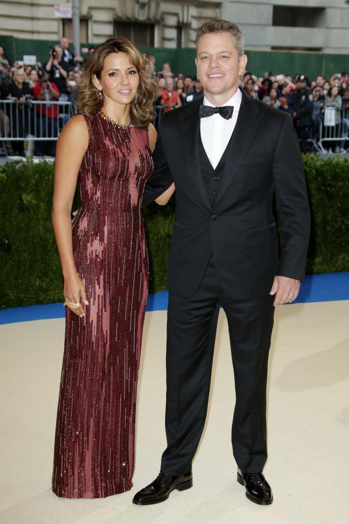 Luciana Barroso si Matt Damon