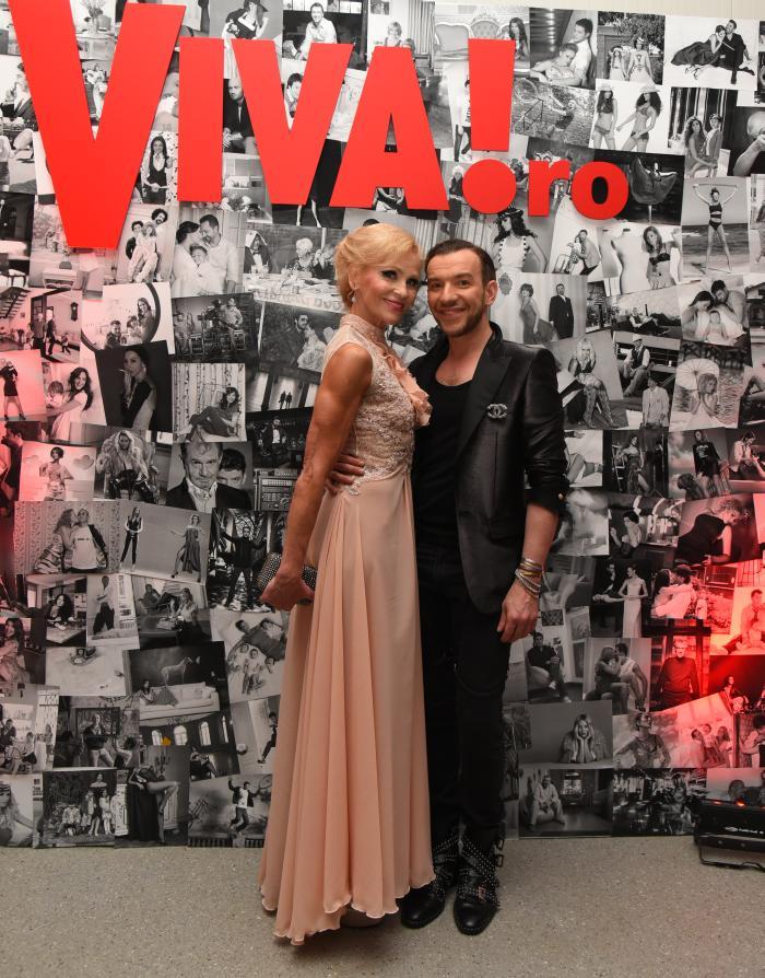 Luminita Nicolescu (rochie Crina Moldovan) si Stephan Pelger