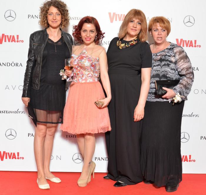 Monica Pop, Ileana Dumitrache, Laura Merdescu si Adriana Irimescu