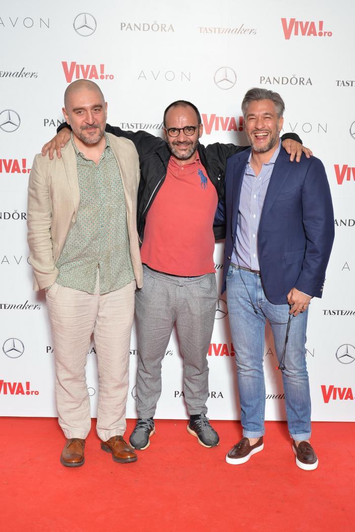 Razvan Exarhu, Samuel Le Torriellec si Liviu Popescu
