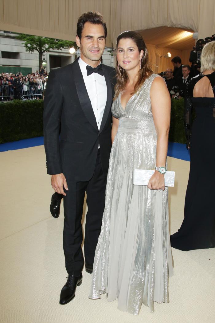Roger Federer si Mirka