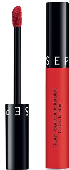 Ruj Lichid Rezistent Sephora Cream Lip Stain Nuanța Always Red