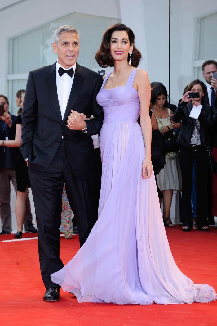Amal și George Clooney, doi părinți fericiți