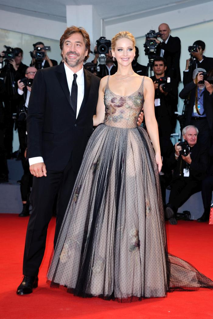 Jennifer Lawrence si Javier Bardem