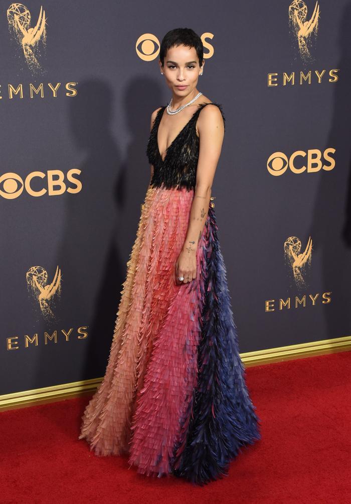 Zoe Kravitz - Dior Haute Couture si bijuterii Tiffany & Co.