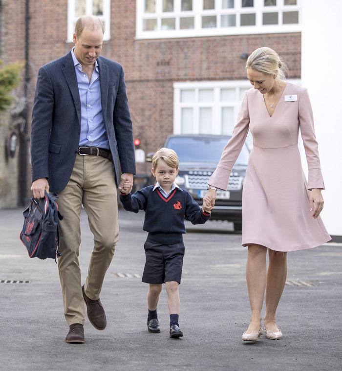 Prințul George continuă să meargă la școală.