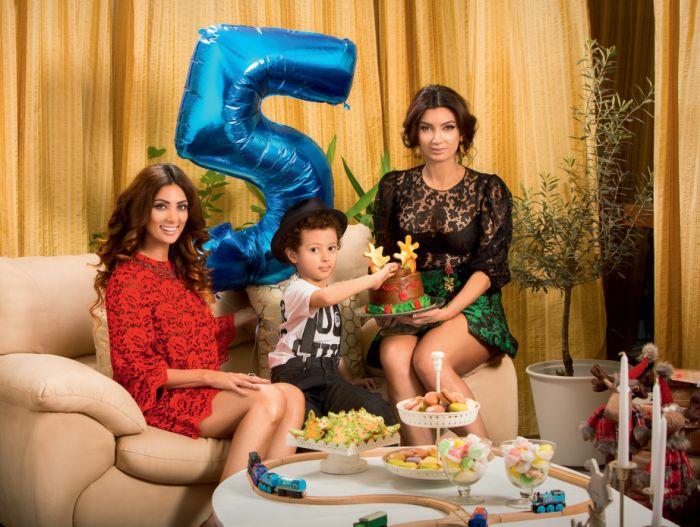 Cream, Noah și sora ei, Paula.