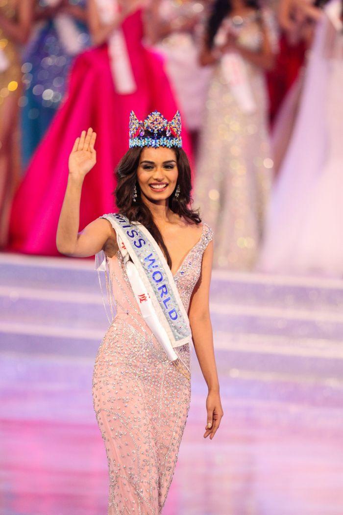 Manushi Chhillar, Miss World 2017