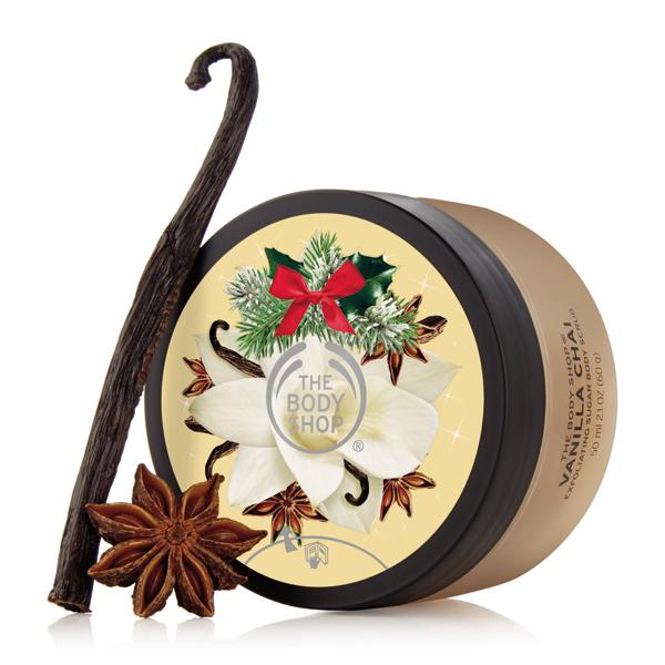 Scrub Pentru Corp The Body Shop Vanilla Chai 28 Lei