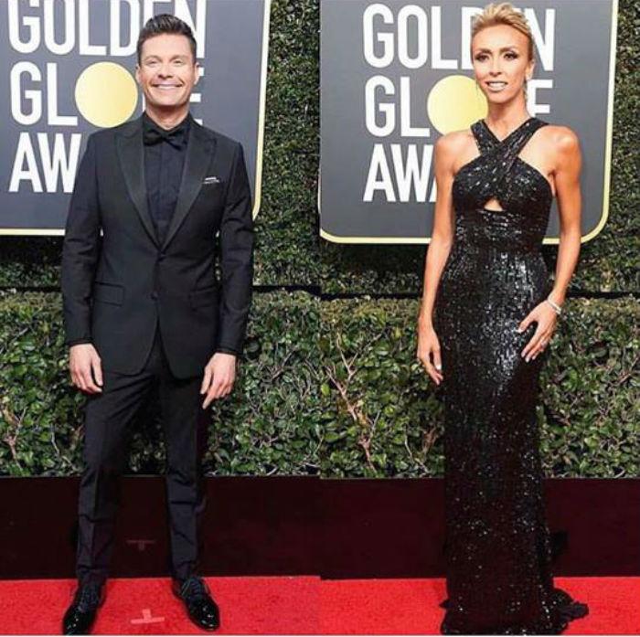 Ryan Seacrest si Giuliana Rancic