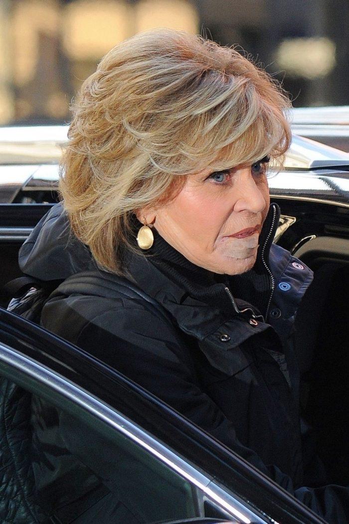Jane Fonda după ce s-a operat de cancer...