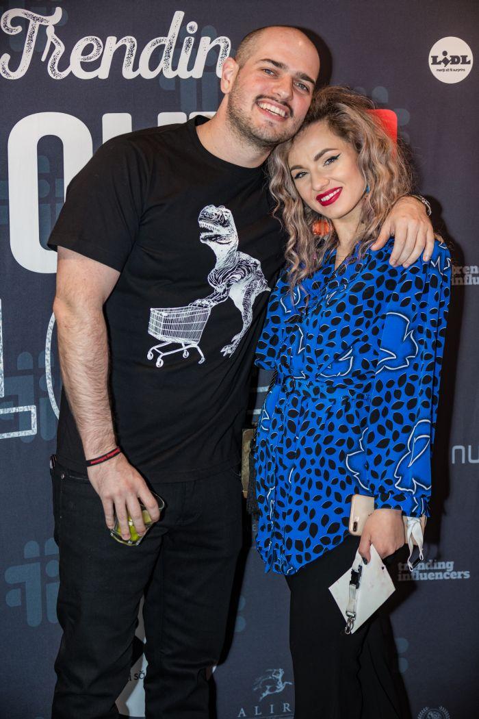 Matei Dima (BRomania) și Denisa Ungureanu