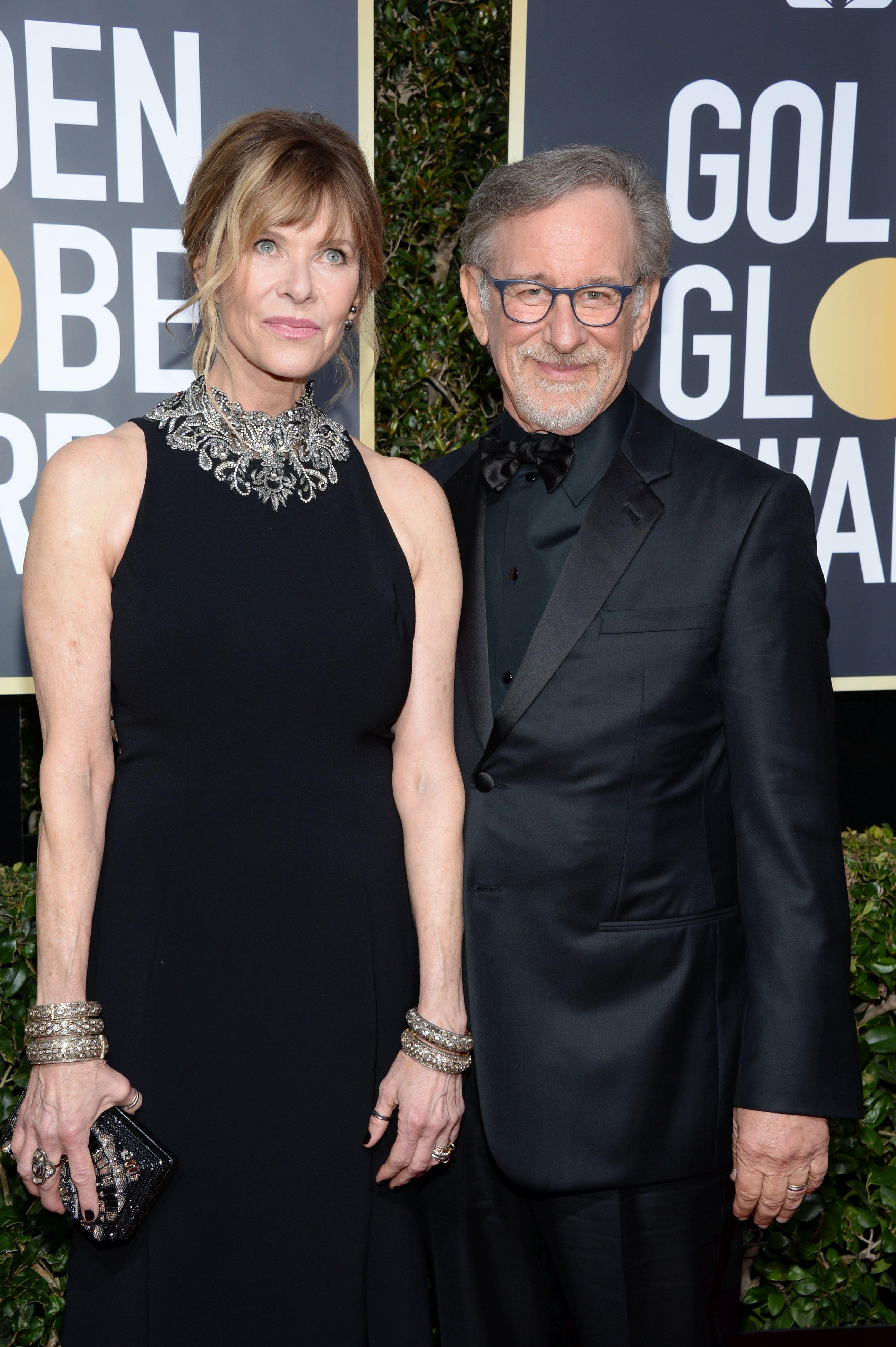 Kate Capshaw și Steven Spielberg
