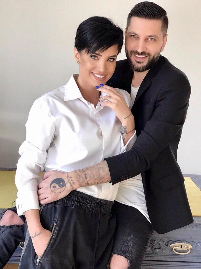 Adelina Pestritu și Virgil Șteblea